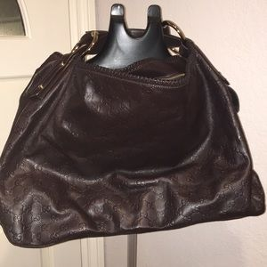 Like New Large Gucci Leather Bag